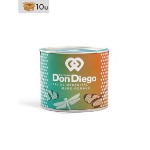 Flor de Sal de Manantial Primera Extracción Don Diego. Pack 10 x 100 g
