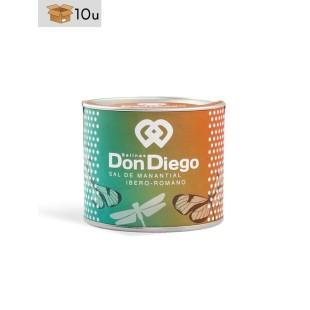 Natives und gemahlenes Sal de Manantial Don Diego. Pack 10 x 150 g