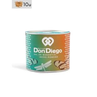 Sal de Manantial Perlen Don Diego. Pack 10 x 150 g
