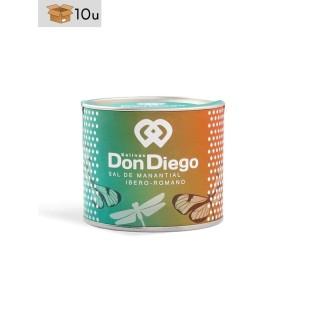 Pétalos de Flor de Sal de Manantial Don Diego. Pack 10 x 75 g