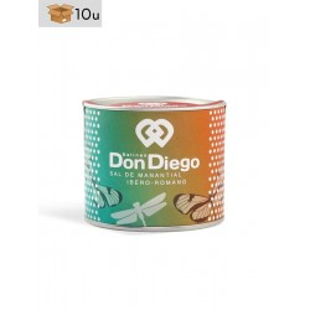 Spring Salt Virgin Don Diego. Pack 10 x 150 g