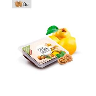 Quittenbrot mit  Walnüssen Vegajardin. Pack 8 x 200 g