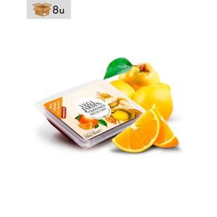 Quittenbrot mit Orange Vegajardin. Pack 8 x 200 g
