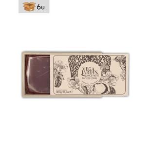Carne de Membrillo Artesana con caja de Madera. Pack 6 x 800 g