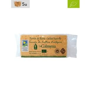 Turrón Ecológico de Jijona IGP La Colmena. Pack 5 x 200 g