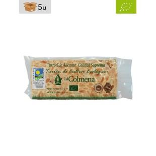 Organic Alicante PGI Nougat La Colmena. Pack 5 x 200 g
