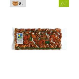 Organic Almond Brittle Nougat with Sesame La Colmena. Pack 5 x 200 g