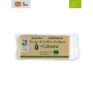Organic Snow Nougat La Colmena. Pack 5 x 200 g