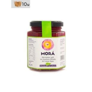 Marmelade aus violetten Mohrrüben mit Stevia. Pack 10 x 200 g