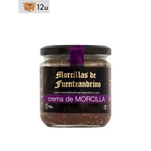 Crema de Morcilla Fuenteandrino. Pack 12 x 300 g