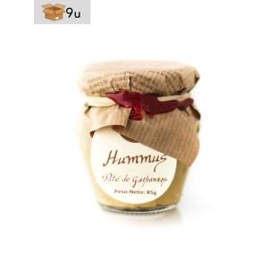 Hummus aus Kichererbsen La Cuna. Pack 9 x 85 g