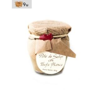 Paté de setas con Trufa Blanca La Cuna. Pack 9 x 85 g
