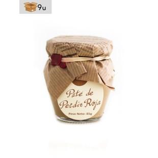 Paté de Perdiz Roja La Cuna. Pack 9 x 85 g