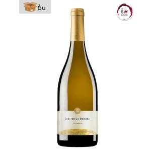 Casa de La Dehesa Moscatel Dry Wine D.O. La Mancha. Pack 6 x 75 cl