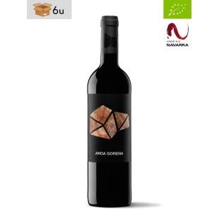 Organic Aroa Gorena D.O. Navarra. Pack 6 x 75 cl