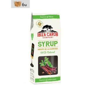 Ibiza Carob Syrup. Pack 6 x 320 g