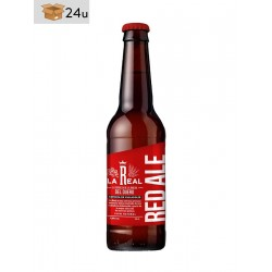 "La Real ""Red Ale"" Artisanal Beer. Pack 24 x 33 cl"