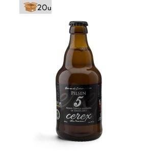 "Cerveza Artesana Cerex ""Pilsen"". Pack 20 x 33 cl"