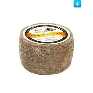 Schafskäse halbgereift mit Schwarzem Knoblauch 2 kg