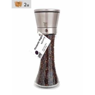 Black Pepper Tellicherry Grinder. Pack 2 x 100 g
