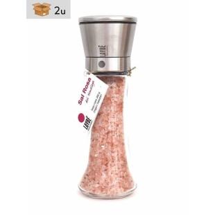 Himalayan Pink Salt Grinder. Pack 2 x 200 g