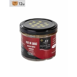 Artisanal Wild Boar Paté Eth Paté de Mia. Pack 12 x 100 g