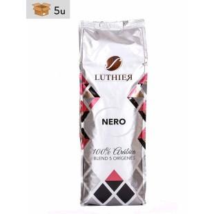 Café Luthier Nero. Pack 5 x 1 kg