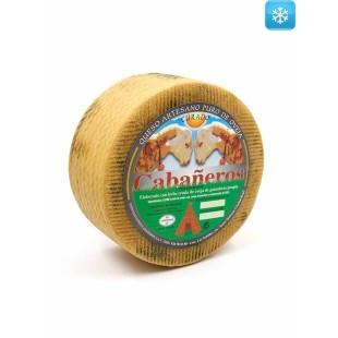 Ausgereifter handwerklich hergestellter Schafskäse 2,8 kg Cabañeros