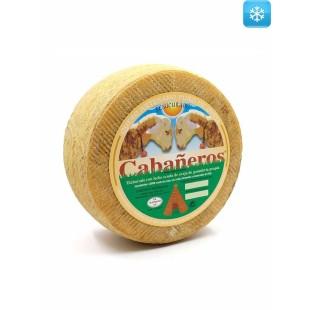 Halbgereifter handwerklich hergestellter Schafskäse 2,8 kg Cabañeros