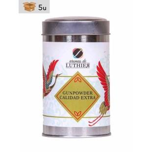 Extra Quality Gunpowder Green Tea 40 tea bags of 2,5 g. Pack 5 x 100 g