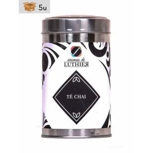 Chai Black Tea 40 tea bags of 2,5 g. Pack 5 x 100 g
