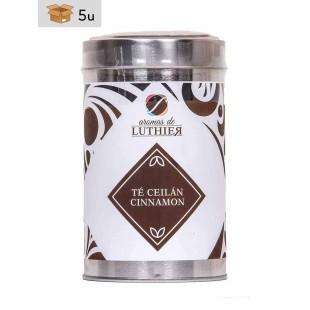 Ceylon Cinnamon Black Tea 40 tea bags of 2,5 g. Pack 5 x 100 g