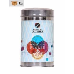 Früchtetee Blüten und Kräuter 40 Pyramiden-Tee-Aufgussbeutel mit je 2,5 g. Pack 5 x 100 g