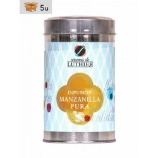 Früchtetee Kamillentee mit ganzen Blüten 40 Pyramiden-Tee-Aufgussbeutel mit je 2,5 g. Pack 5 x 100 g