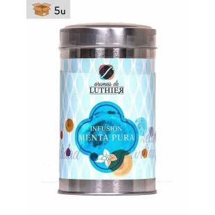 Kräutertee Reine Minze 40 Pyramiden-Tee-Aufgussbeutel mit je 2,5 g. Pack 5 x 100 g