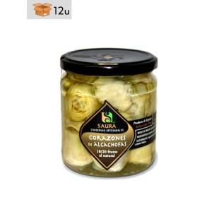 Artichoke Hearts Saura. Pack 12 x 300 g