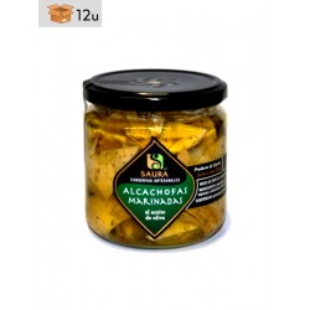Alcachofas Marinadas Saura. Pack 12 x 300 g