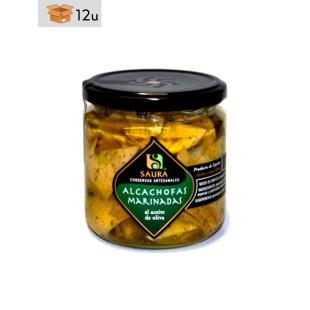 Marinated artichokes Saura. Pack 12 x 300 g