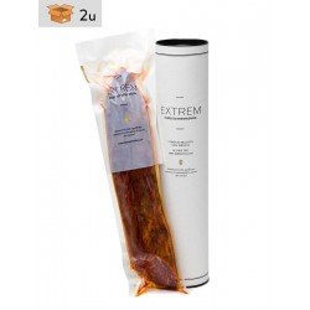 Acorn-fed 100% Iberian loin Extrem Puro Extremadura. Pack 2 x 550 g