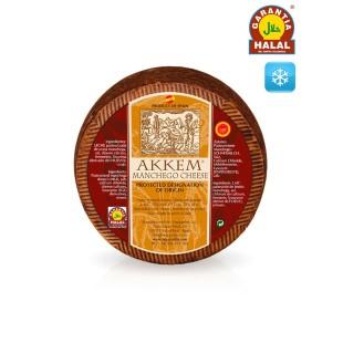 Old Manchego PDO Cheese Akkem HALAL 3,3 kg