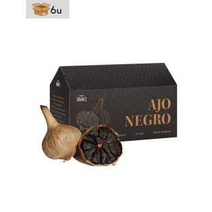 Matured Garlic Black Allium®. Pack 6 x 2 heads
