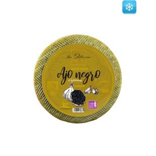 Semi-cured Sheep Cheese with Black Garlic Las Delicias 2,5 kg