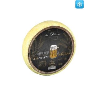 Queso de Mezcla Semicurado con Cerveza Las Delicias 900 g