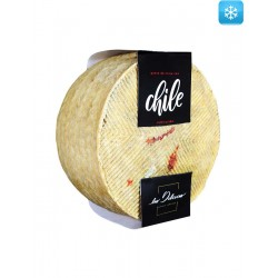 Semicured Sheep Cheese with Chile Las Delicias 2,5 kg