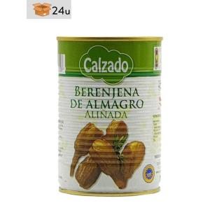 Berenjena de Almagro IGP Aliñada Calzado. Pack 24 x 425 ml