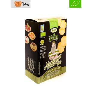 Estuche Galleta Marinera Ecológica con Aceite de Oliva Virgen Extra Daveiga. Pack 14 x 100 g