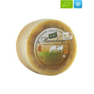 Artisan Semicured Raw Milk Manchego PDO Organic Cheese 3 kg