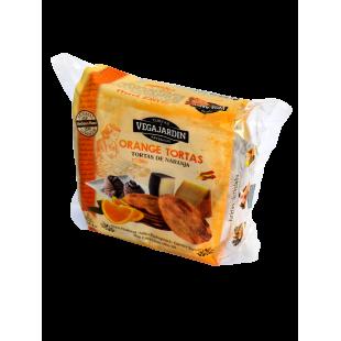 Vegajardin Orange Olive Oil Tortas 180 g