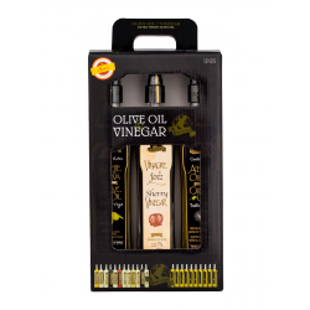 Set Extra Virgin Olive Oil and Sherry Vinegar PDO Spray Terrafood x 3