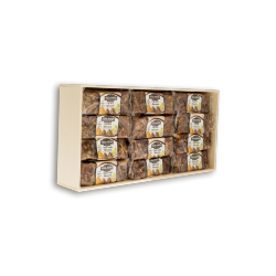 Feigenbrot mit Mandeln & Dattelbrot mit Mandeln - 24 Riegel x 50 g Vegajardin